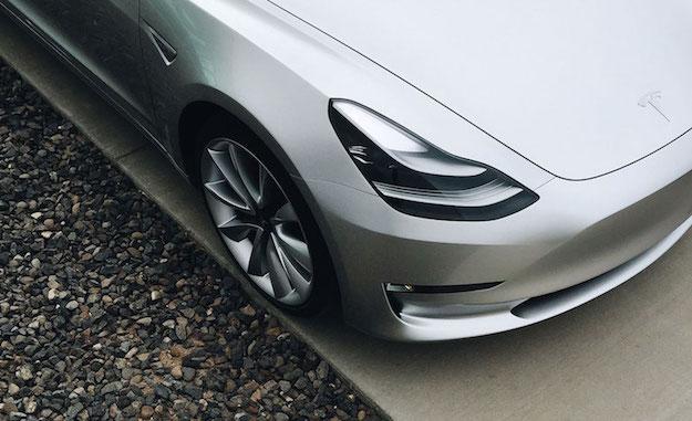 model 3 hood headlights