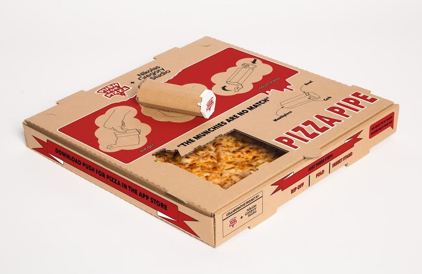 Push For Pizza 4/20 Box