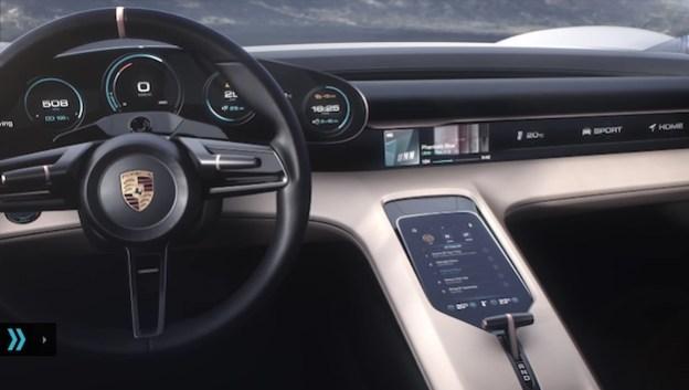 Tesla hires porsche mission e designer f lix godard bgr for Porsche mission e interieur
