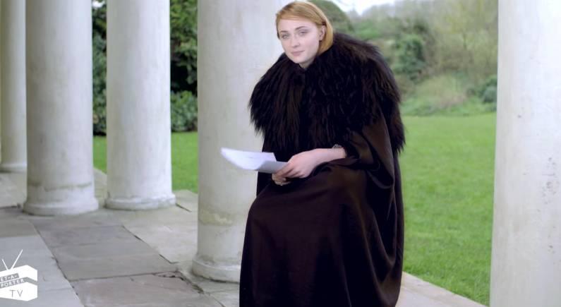 Sansa Stark Jon Snow Adele Hello