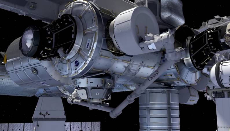 SpaceX ISS Supply Mission BEAM