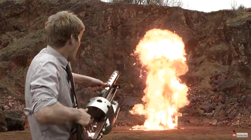 Steampunk Thermite Cannon YouTube