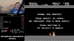Super Mario Bros. World Record