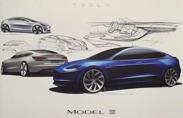 Tesla Model 3 Specs Leak