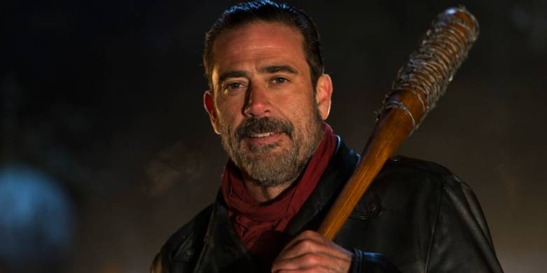 The Walking Dead Negan Kill