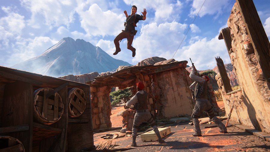 Uncharted 4 Hands-on Preview