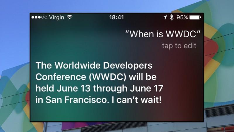 WWDC 2016 Date