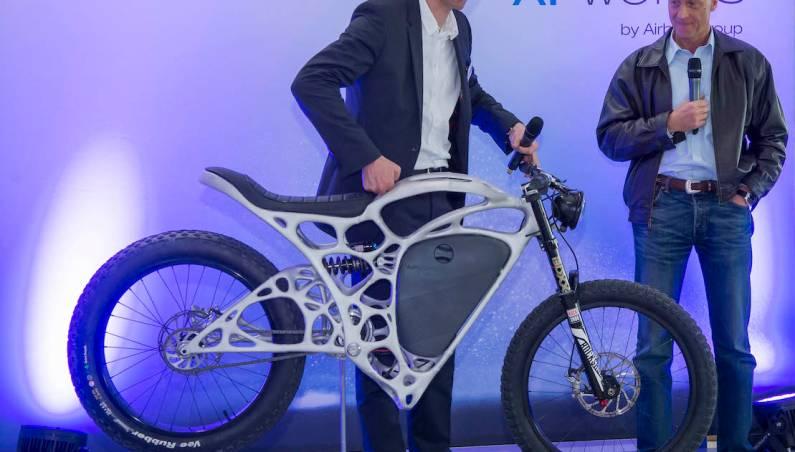 3D Printed Motorbike