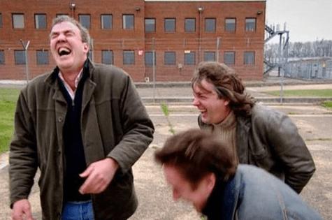 Chris Evans Top Gear Reactions