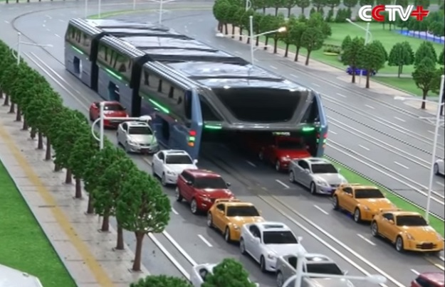 China Wants To Battle Traffic Jams With This Crazy