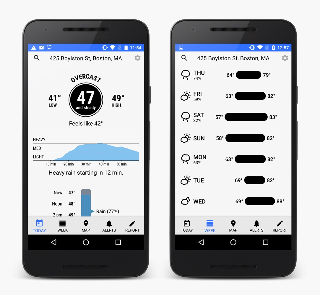 Phone Sky App For Android Phone our favorite iphone weather app ever finally comes to android bgr