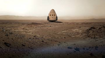 SpaceX Dragon 2 Mars