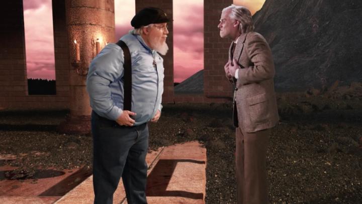 George R.R. Martin Vs. J.R.R. Tolkien Epic Rap Battle