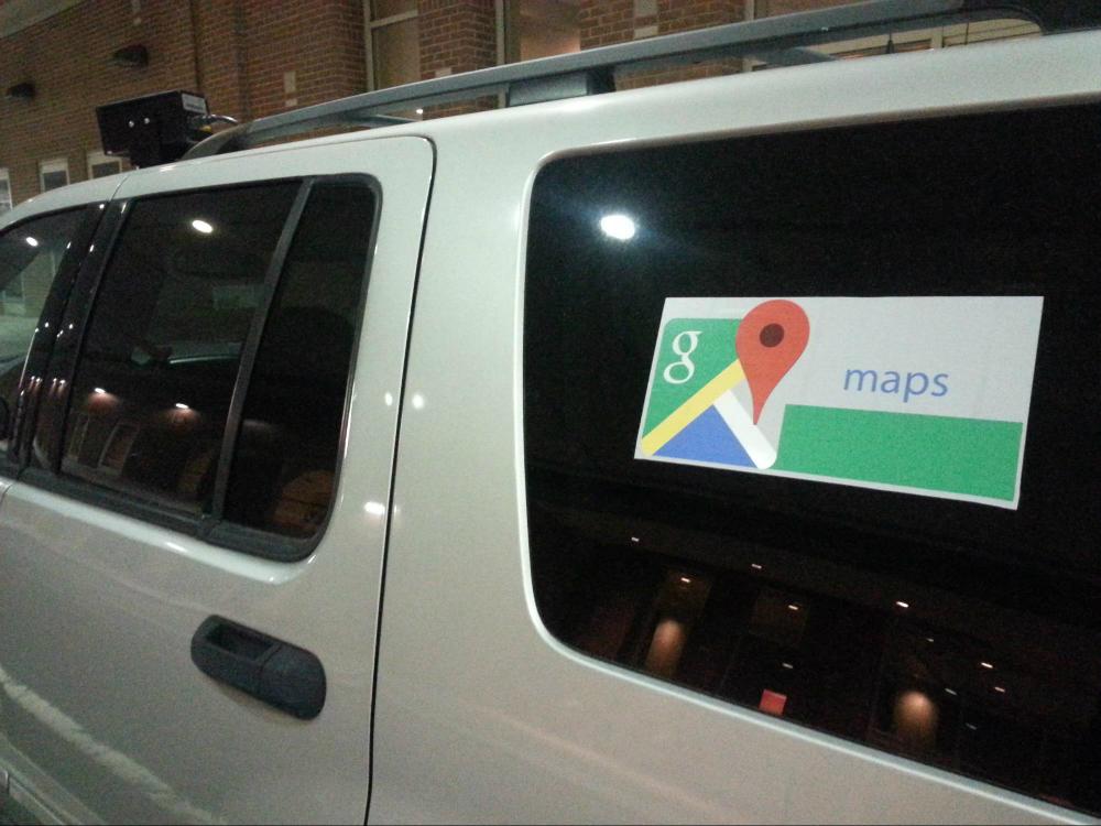 Police Spy Car Google Maps