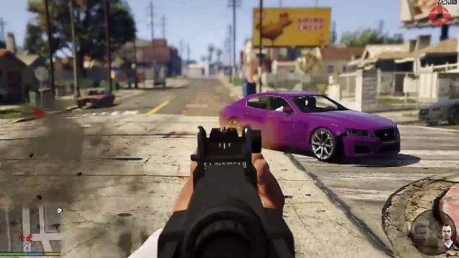 Virtual Reality Grand Theft Auto
