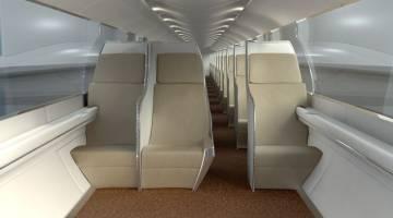 Hyperloop Pod Interior Video