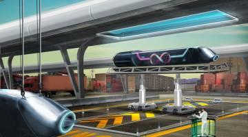 Hyperloop One Test Las Vegas