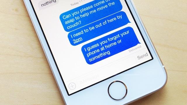 iMessage Text Crash Bug