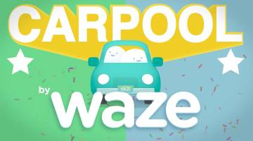 Waze Ridesharing Carpool Option