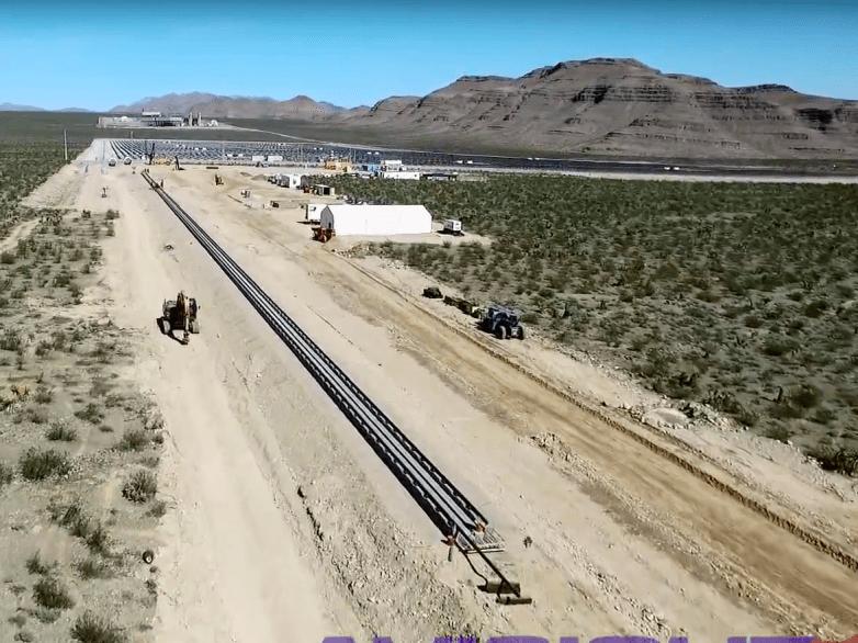 Hyperloop Test Watch Video