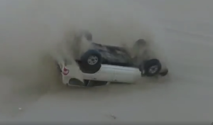 Trucks Sand Dune Crash Video