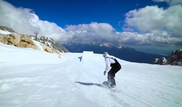 Snowboarding Video