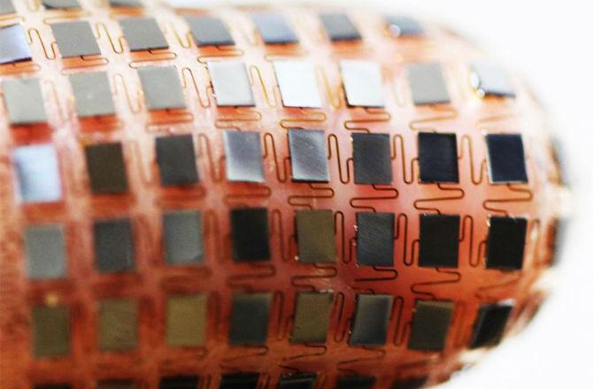 Flexible Battery Solar Panel