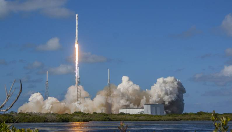 spacex zuma satellite