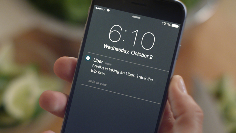 Uber app privacy issues: iPhone