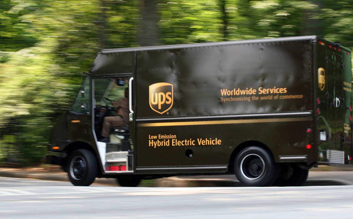 UPS Tracking Map