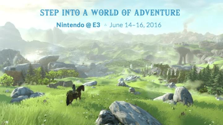 Nintendo E3 2016 Schedule