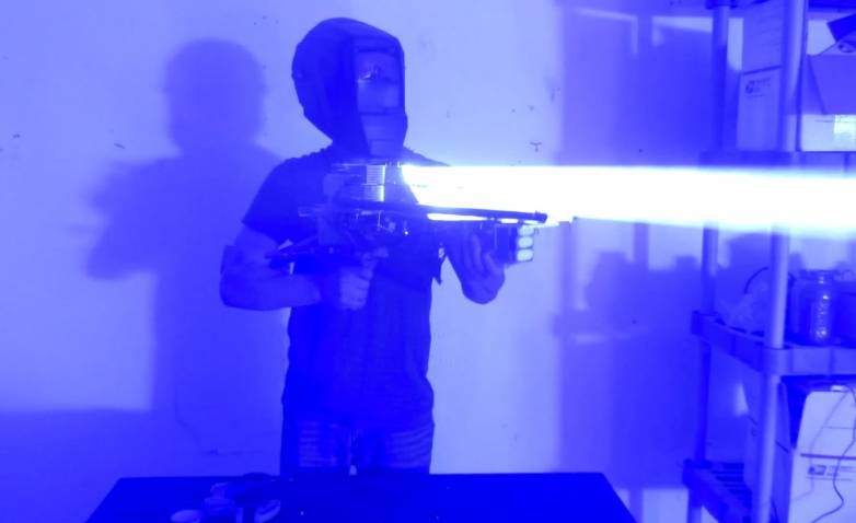 200W Laser Bazooka Styropyro
