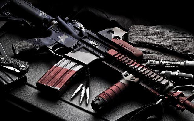 AR-15 Rifle Bullet Wounds