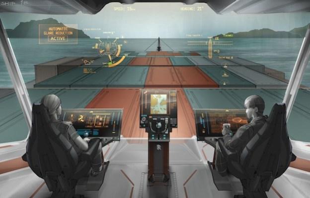 cargo ship rolls royce