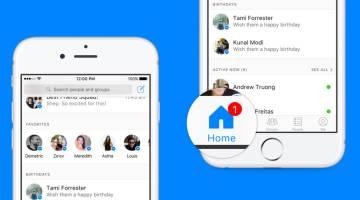 Facebook Messenger Update Home Screen