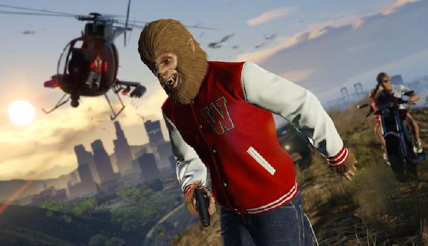 Grand Theft Auto V Easter Egg Teen Wolf