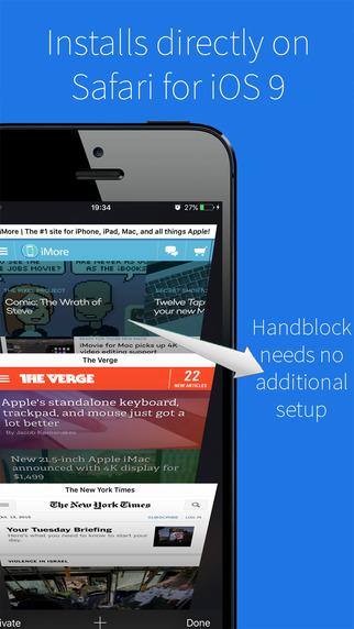 Handblock Adblocker