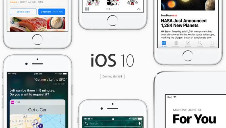 iOS 10 Update iPhone iPad