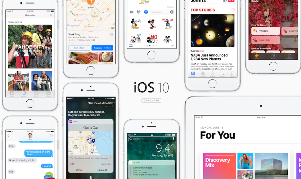 iOS 10 is already bigger than iOS 9