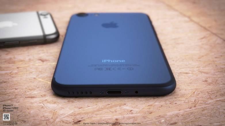 iPhone 7 Colors Black Blue