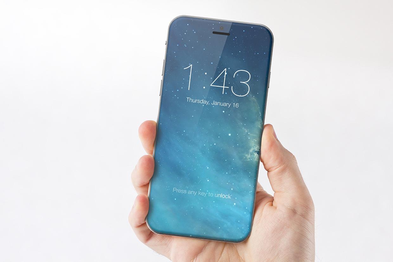 iPhone 8 iOS 11 Concept