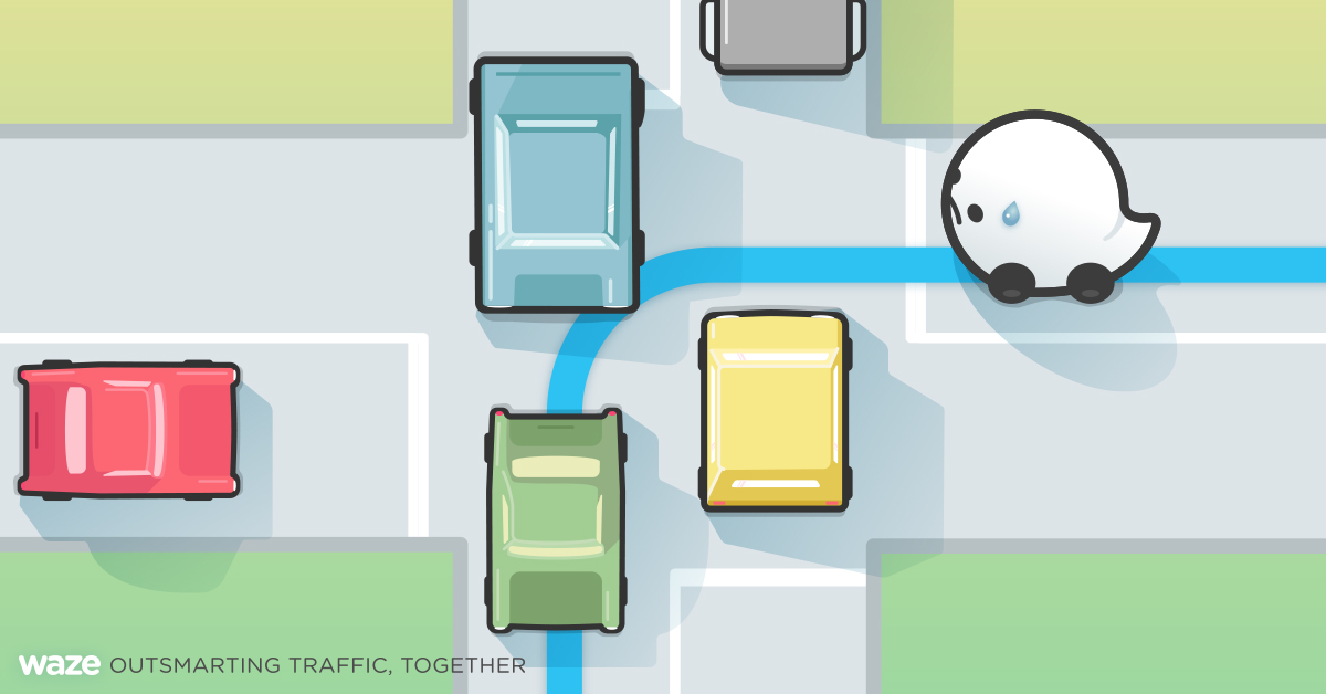 waze left turns solution