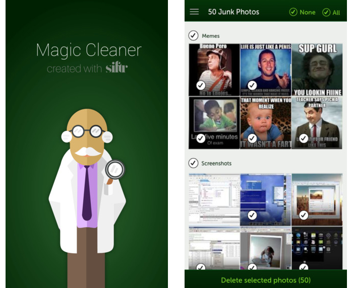 Magic Cleaner Photo Cleaning App