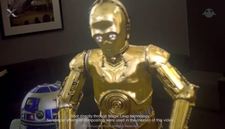 Magic Leap Star Wars Video