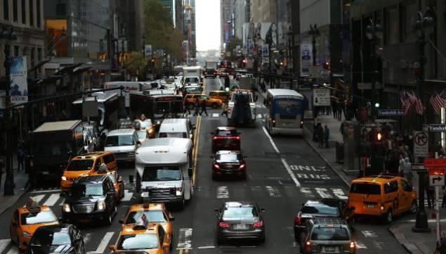 Consecutive Green Lights New York City