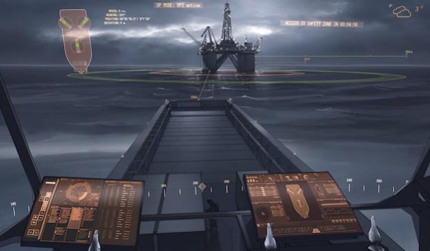 rolls royce autonomous ship control command