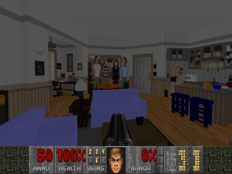 Seinfeld Apartment Doom 2