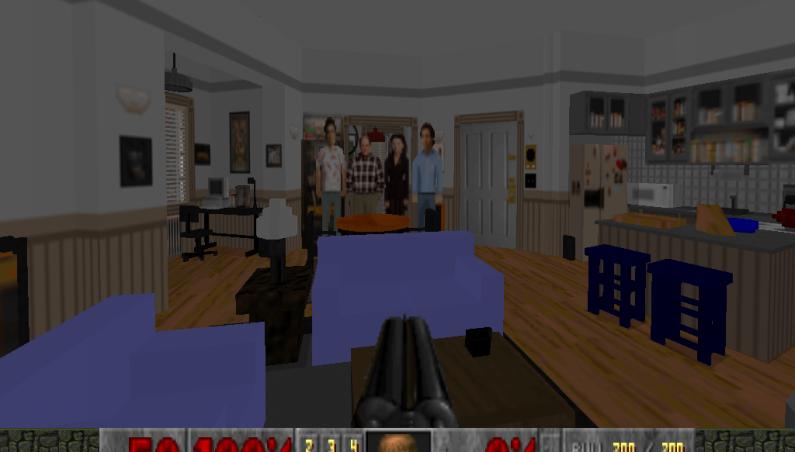 Seinfeld Apartment Doom 2