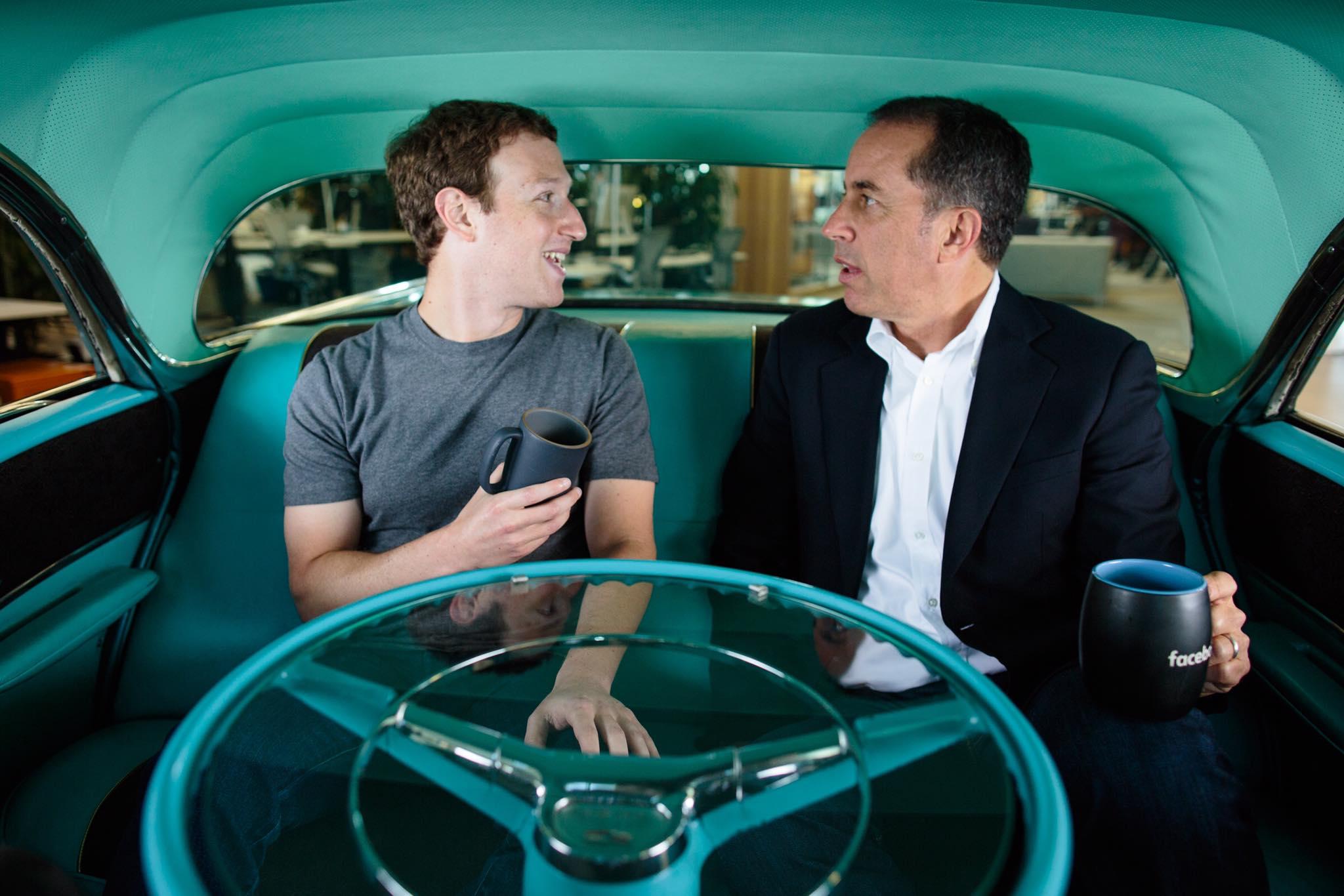 Jerry Seinfeld Mark Zuckerberg Interview