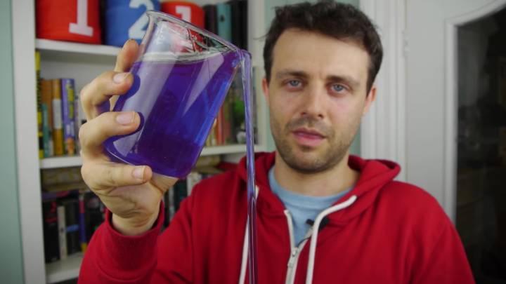 Self-Pouring Liquid Video